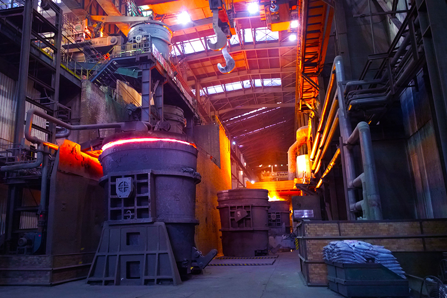 foundries & Ore Smelting<br>
