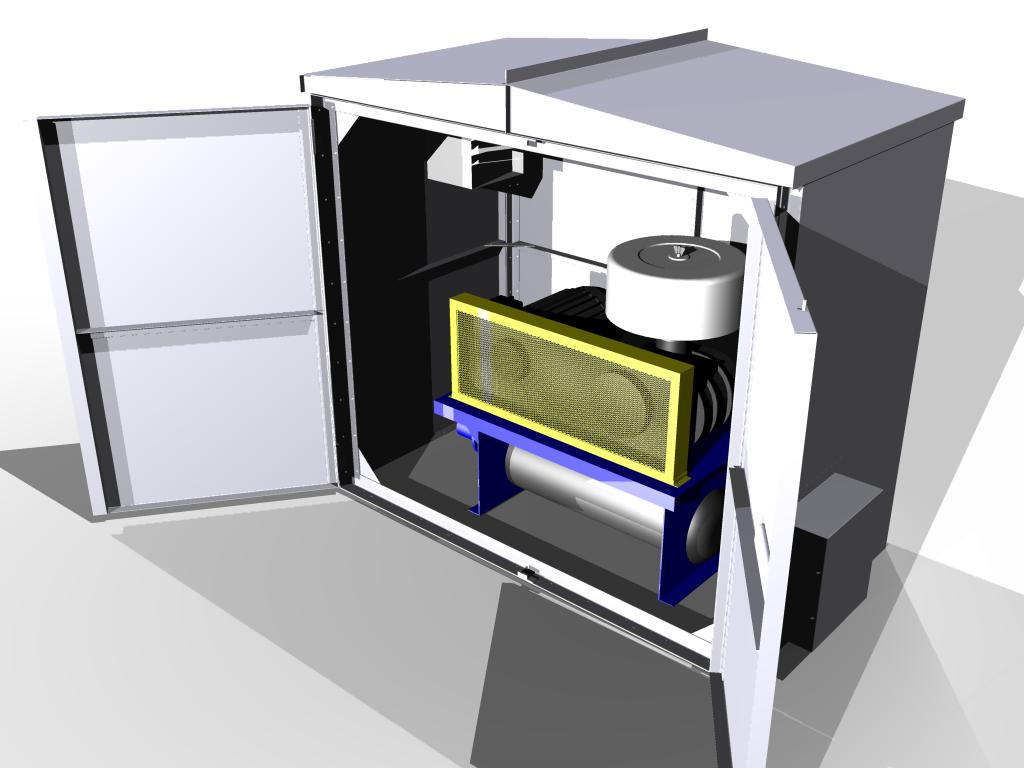 IAC Safety Sound Enclosure